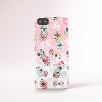 Pineapple iPhone 6 Case Pineapples iPhone Case iPhone 6 Plus Case Summer iPhone Cases Trending 2015 Pink Pastel Pineapple Tech Accessories