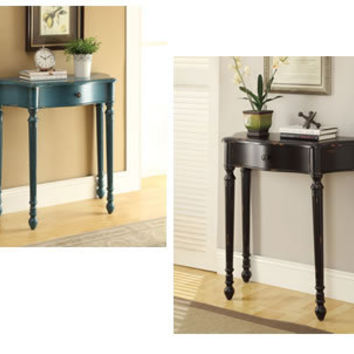 ON SALE Inspired by Bassett KINCAID Finish Console Hand Painted Display Table