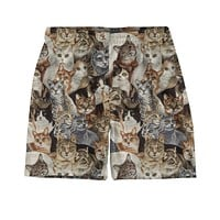Cats Weekend Shorts