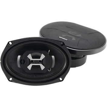 "Hifonics Hercules Series Coaxial Speakers (6"" X 9"" 3 Way 90 Watts)"