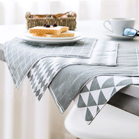 Greyscale Placemat Set