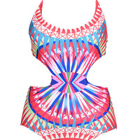 Cupshe Lovesun Cut Out Swimsuit