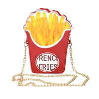 Junk Food Faves Bag with Chain Strap