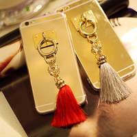 Bling Tassels Girls Phone Cases for iphone 6 6s for iphone 6 6s  plus