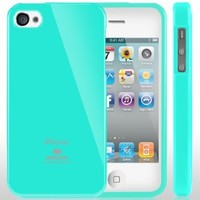 iPhone 4S Case, Caseology® [Daybreak Series] Slim Fit Shock Absorbent Cover [Turquoise Mint] [Slip Resistant] for Apple iPhone 4S - Turquoise Mint