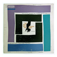 """Saul Bass record album design, 1956. """"The Man With The Golden Arm"""" LP"""