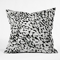 Rebecca Allen Like Snow Throw Pillow