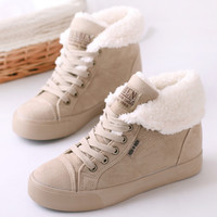 2014 Hot Sale Women Fashion Sneakers Winter Casual Snow Boots Suede Fabric Height Increasing Ankle Boots Brand Cheap Shoes T0098