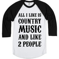 Country Music and Two People