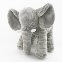 New Arrival Elephant Decorative Pillows Cushions Home Decor Kids Children Cushion Baby Doll Bed Good Quality Pillow Cushion