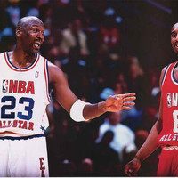 Michael Jordan and Kobe Bryant Poster 24x36