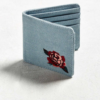 UO Embroidered Bi-Fold Wallet - Urban Outfitters