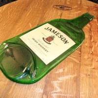 Jameson Flat Bottle with Label.