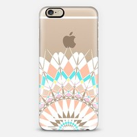 Pastel Half Feather Star Transparent iPhone 6 case by Organic Saturation | Casetify