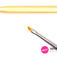 Whats Up Nails - Pure Color Glamor #4 Angular Brush