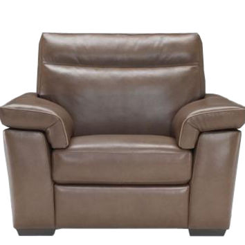 Cervo Leather Arm Chair by Natuzzi Editions