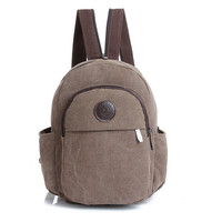 2016 New Vintage Fashion Mini Backpack Women's Backpack Canvas Bags Girl Travel Backpack Small Chest Pack Bag Schoolbags