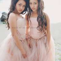 Tutu skirt and Corset-Bridal-Prom-Skye