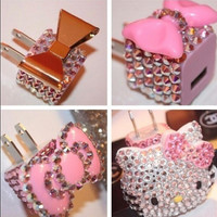 Deco Bling Phone Charger