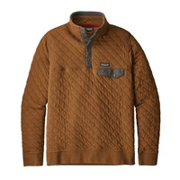 Patagonia M Org Cttn Quil SnapT P/O