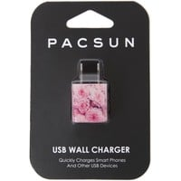 With Love From CA Floral USB Wall Charger - Womens Scarves - Multi - NOSZ