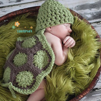 Newborn Baby Girls Boys Crochet Knit Costume Photo Photography Prop = 4457581508