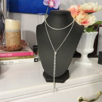 Curved Box Choker - Snake Chain