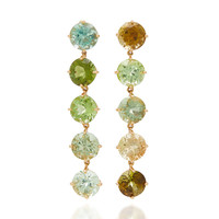 One-Of-A-Kind Green Light Earrings | Moda Operandi