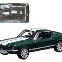 """Sean's 1967 Ford Mustang """"The Fast and The Furious"""" Movie (2006) Tokyo Drift 1-43 Diecast Car Model by Greenlight"""