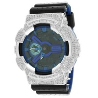 GA110LPA-1A Performance Blue G-Shock Watch Ana-Digi