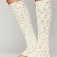 Free People Womens Nub Yarn Legwarmer