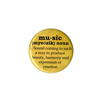Music Definition Pin