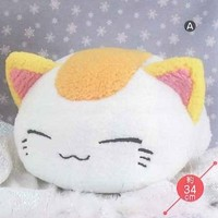 Nemuneko Puffy-Fluffy BIGxBIG Plush Type-A: White 14in.