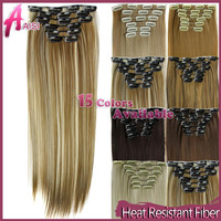 Synthetic Clip In Hair Extension