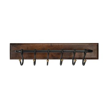 Glendo Iron & Wood Wall Rack by Butler Specialty Company