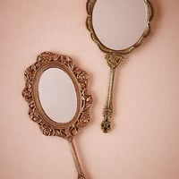 Scalloped Vanity Mirror