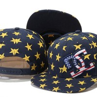 Perfect DC Shoes Snapbacks hats Women Men Embroidery Sports Sun Hat Baseball Cap Hat