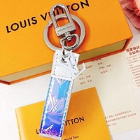 LV Louis Vuitton Hot Sale New Men and Women Color Pendant Keychain Decoration