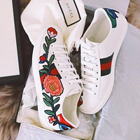 Gucci Ace embroidered low-top sneaker-5