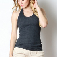 Ribbed Halter Top - Clearance