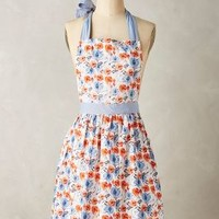 Lucerne Apron by Anthropologie in Blue Size: Apron Aprons