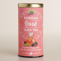 The Republic of Tea Sonoma Rose Iced Tea, 6 Count
