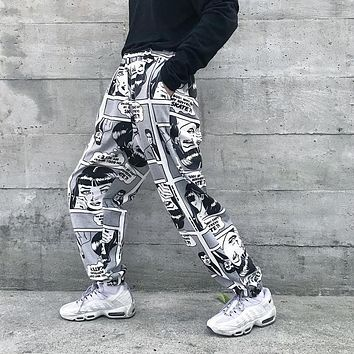 Why Can't My Boyfriend Skate Comic Trousers