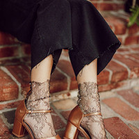Ginger Mary Jane Heel   Urban Outfitters