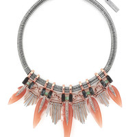 Fringed Collar Necklace | Lord and Taylor
