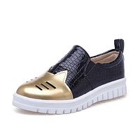 Flats Platform Loafers Shoes for Women 7136