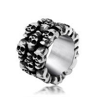 Jewelry Gift New Arrival Shiny Korean Fashion Titanium Accessory Stylish Strong Character Men Ring [6526791427]