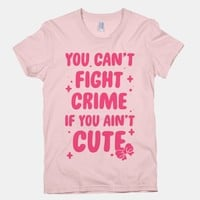 You Can't Fight Crime If You Ain't Cute