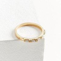 Elizabeth Stone Multi-Gem Stacking Ring | Urban Outfitters