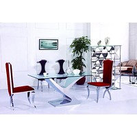 Royal Glass  Dining Table For Home Furniture